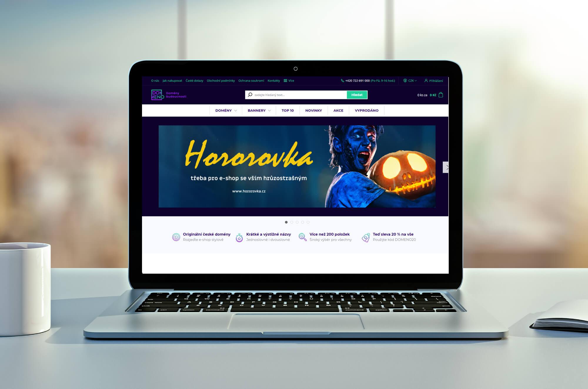 Otevíráme v Česku nový doménový e-shop pro všechny podnikavé pozemšťany
